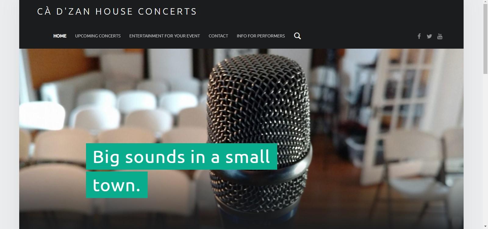 Cà d'Zan House Concerts
