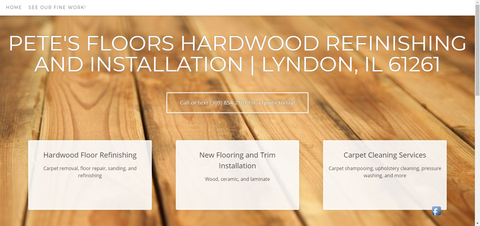 Pete's Floors Hardwood Refinishing And Installation